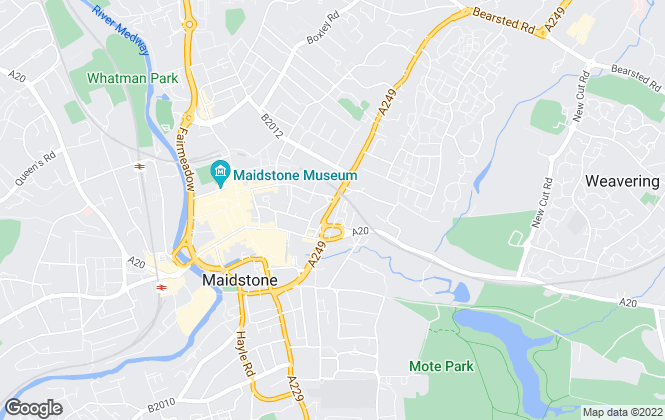Map for RedLet, Maidstone
