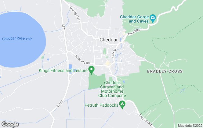 Map for Rentin, Cheddar - Lettings