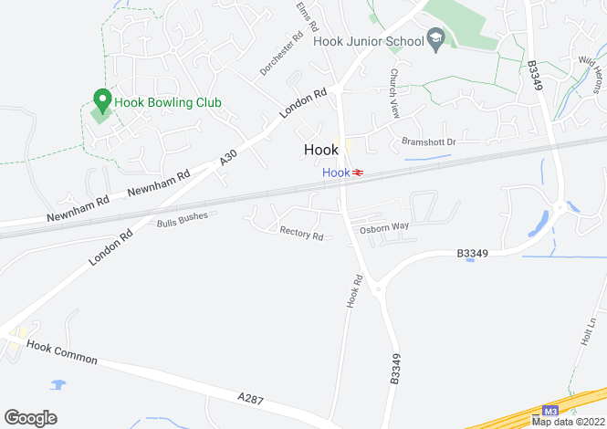 Map for Rectory Road,