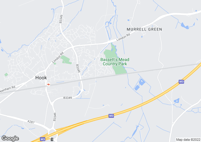 Map for Creswell, Hook, RG27