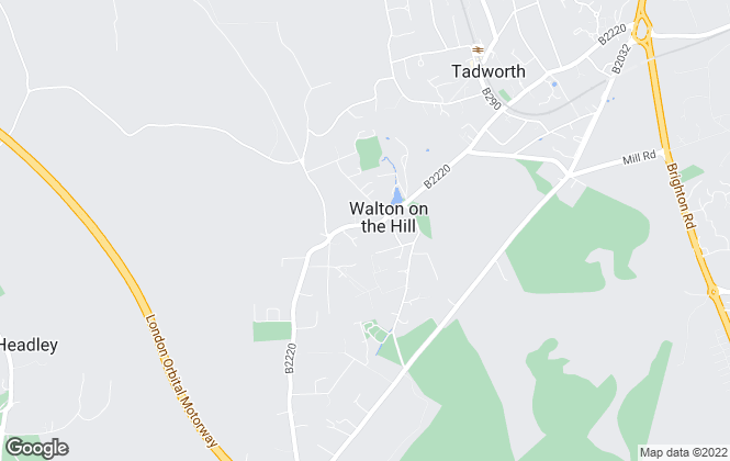 Map for Johnsons Independent Property Agents, Walton On The Hill