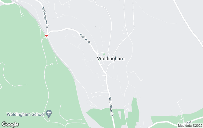 Map for Fine & Country Homes from Park & Bailey, Woldingham