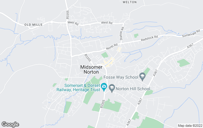 Map for Michael Gould, Midsomer Norton