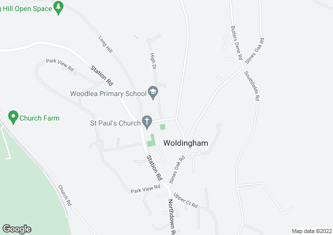 Map for Barons Folly