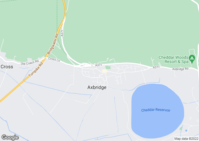 Map for High Street, AXBRIDGE