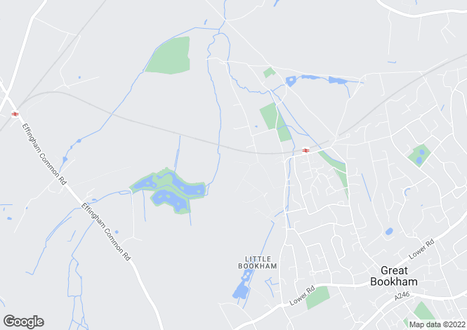Map for LITTLE BOOKHAM