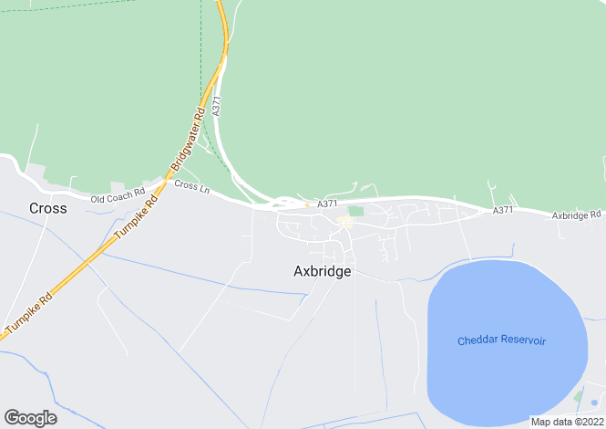 Map for West Street, Axbridge