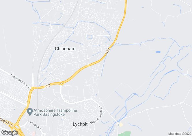 Map for Chineham