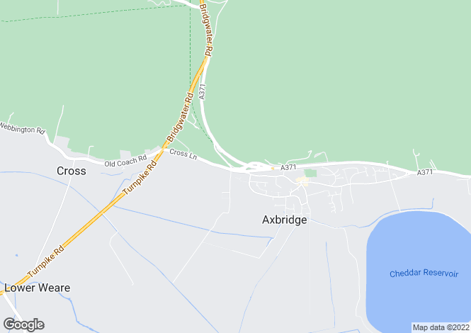 Map for Townsend, AXBRIDGE