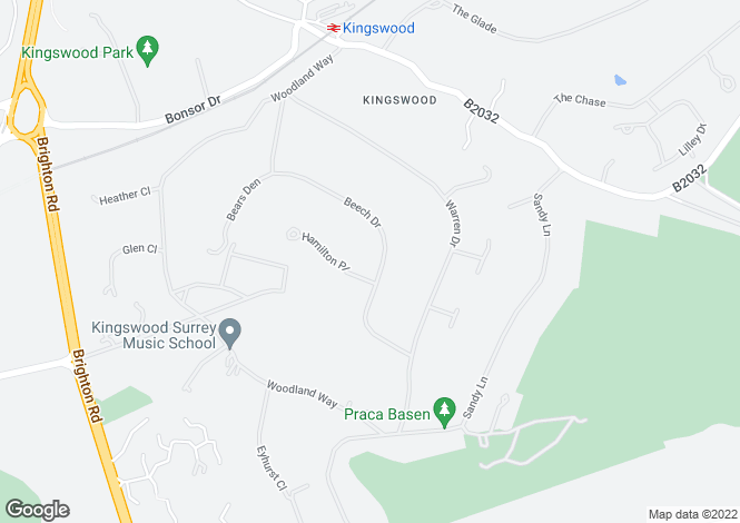 Map for Kingswood