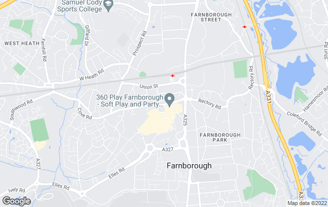 Map for Chilli Residential, Farnborough