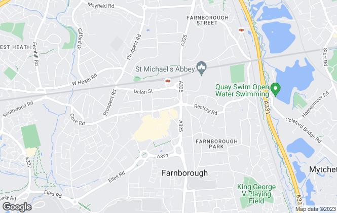 Map for Prospect Estate Agency, Farnborough