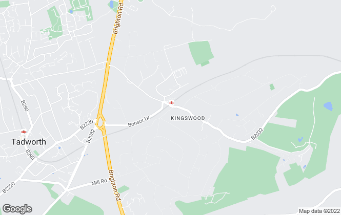 Map for Fine & Country, Kingswood
