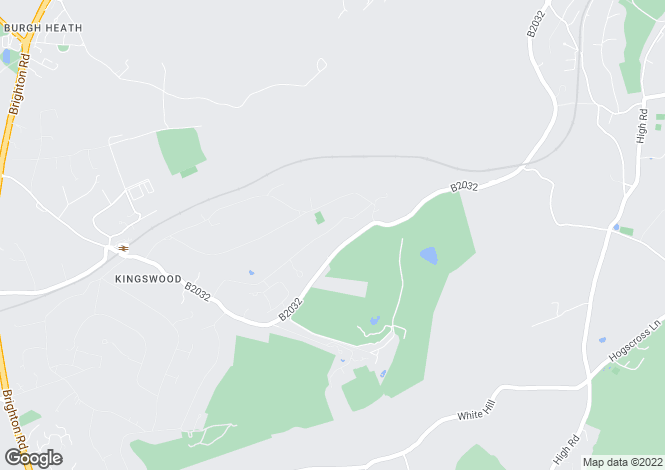 Map for The Chase, Kingswood, Surrey, KT20