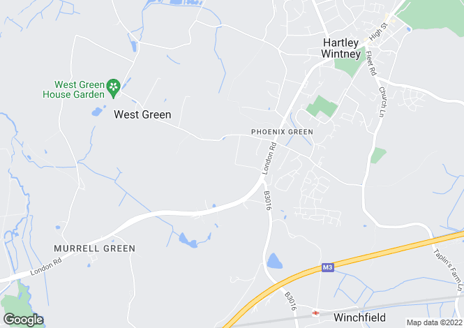 Map for Croft Road, Hartley Wintney, Hook, Hampshire, RG27 8HT