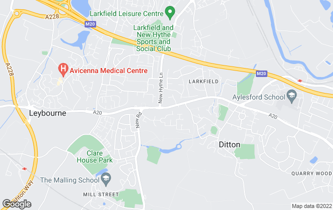 Map for Ward & Partners, Larkfield