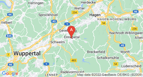 map of Klutert Cave (Germany)