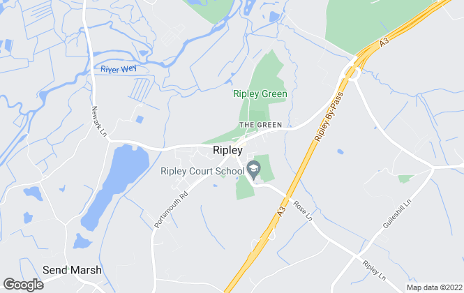 Map for Wills & Smerdon, Ripley