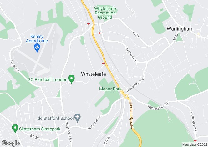 Map for The Avenue, WHYTELEAFE