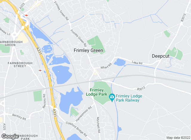 Map for Luff & Wilkin, Frimley Green