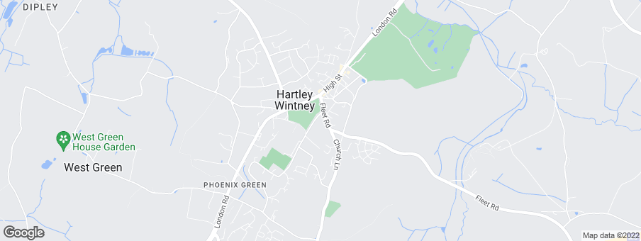 Map for Bewley Homes