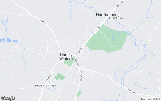 Map for McCarthy Holden, Hartley Wintney