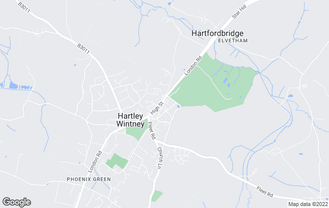 Map for Charlton Grace, Hartley Wintney