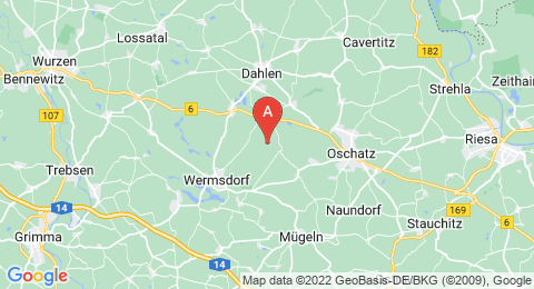 map of Collmberg (Germany)