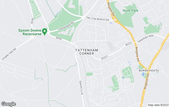 Map for Eastons Ltd, Epsom