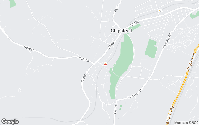 Map for Surrey Homes, Chipstead