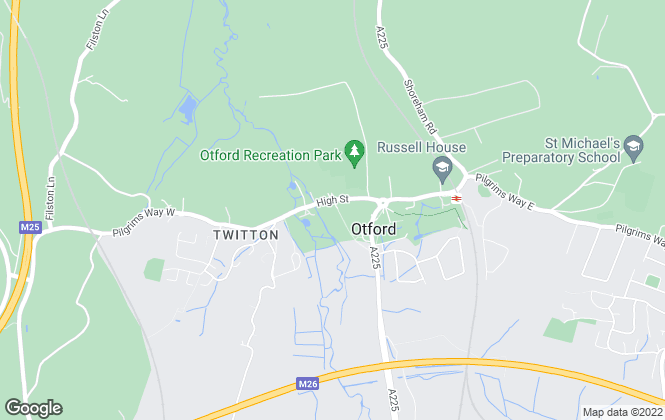 Map for Ibbett Mosely, Otford