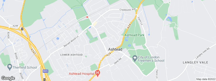 Map for Ashgrove Homes