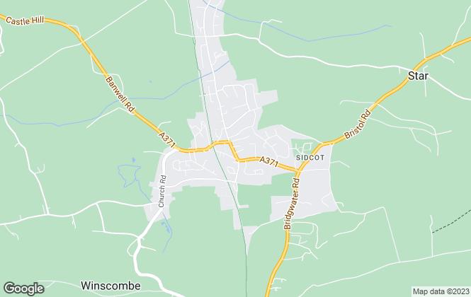 Map for CJ Hole, Winscombe