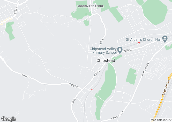 Map for Chipstead Way, Woodmansterne