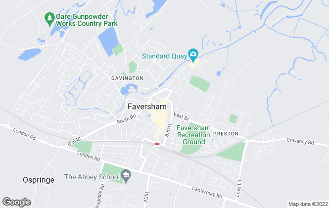 Map for Geering & Colyer, Faversham