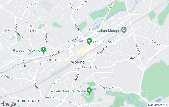 Map for Knights Property Services, Woking