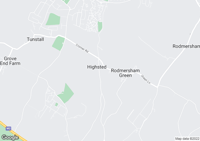 Map for Highsted Valley, Rodmersham, Sittingbourne, Kent