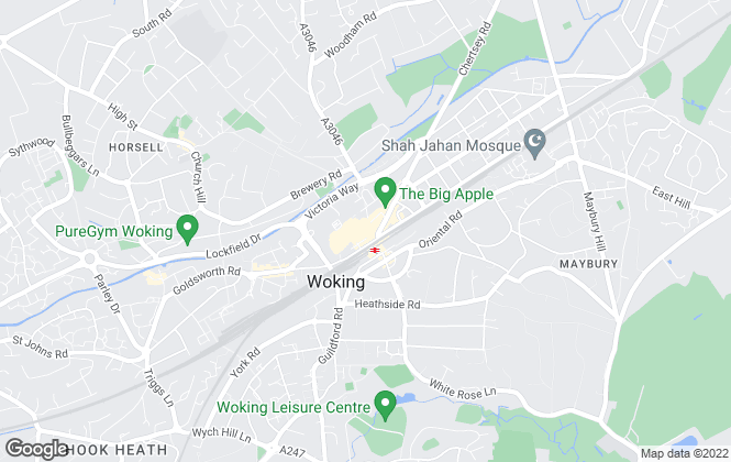 Map for Chancellors, Woking Lettings