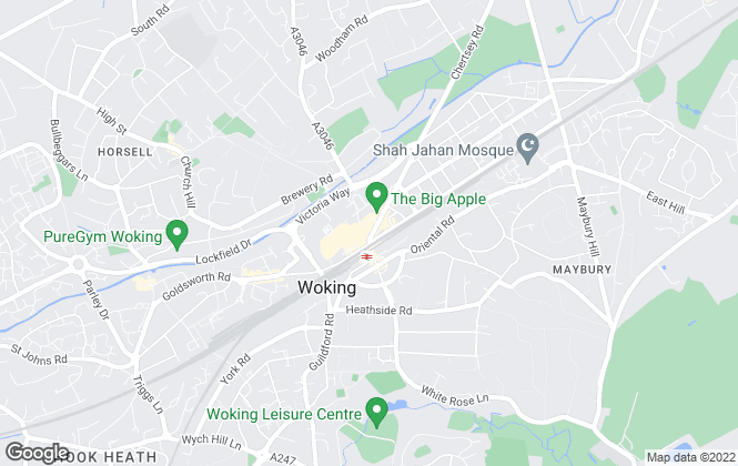 Map for Libra Sales and Lettings Ltd., Woking
