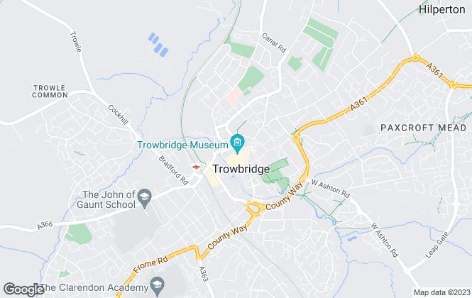 Map for Town & Country Estates, Trowbridge