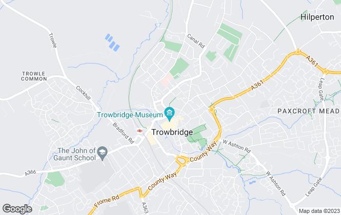 Map for C J Residential , Trowbridge