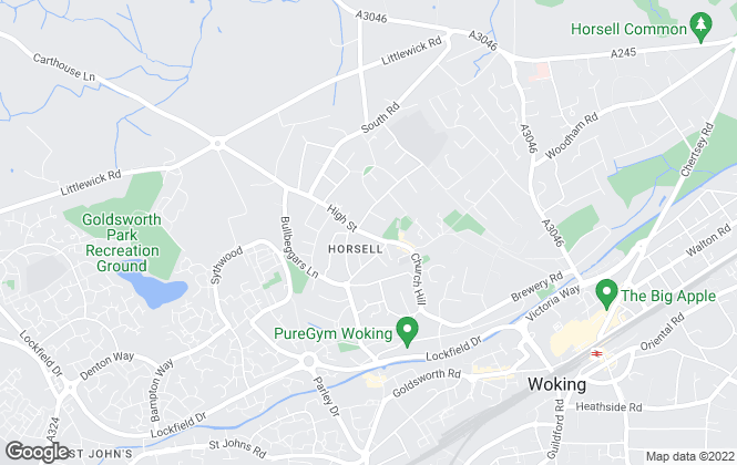 Map for Seymours Prestige Homes, Surrey
