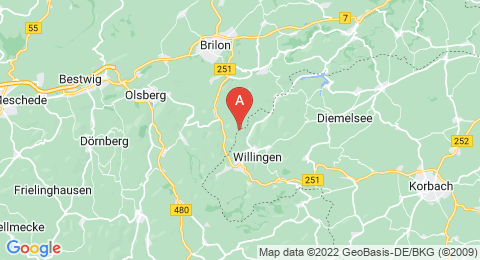 map of Dreiskopf (Germany)