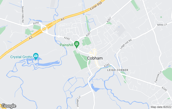 Map for Century 21, Cobham & Esher