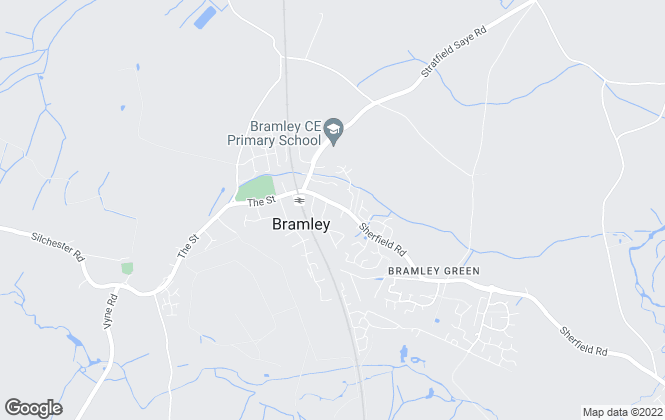 Map for Sansome & George, Bramley