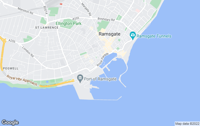 Map for On The Spot Property, Ramsgate