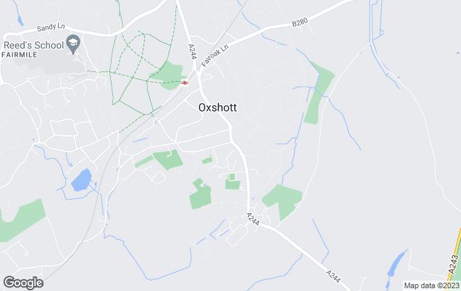 Map for Boyce Thornton, Oxshott