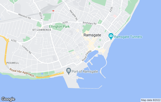 Map for Cooke & Co, Ramsgate