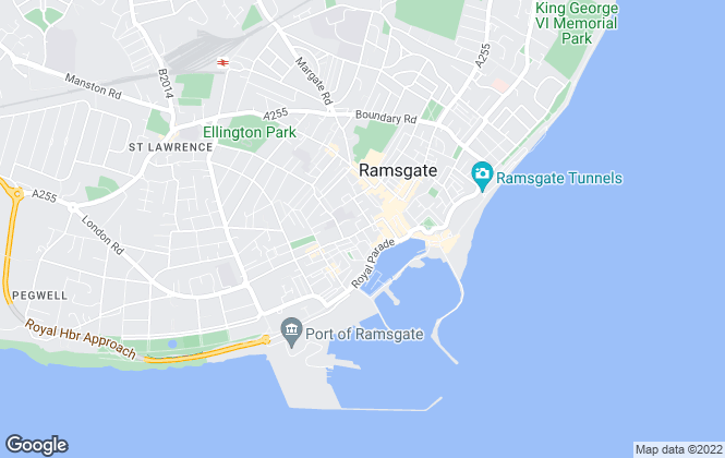 Map for Miles & Barr, Ramsgate - Lettings