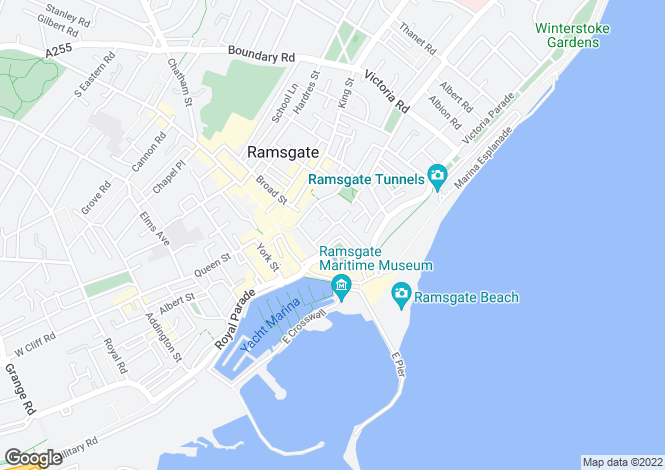 Map for Albion Place,